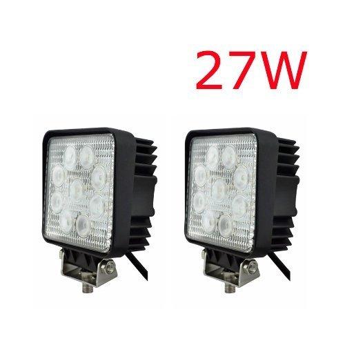 4 opinioni per Huiyiyu- lampade a LED da 27 W, 9-30 V, 2.500 lumen, con lampada di ricambio 12