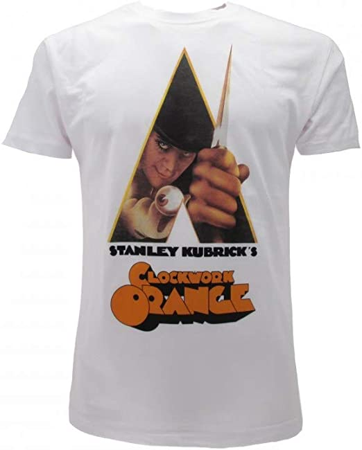 T-shirt du Film Orange mécanique A Clockwork
