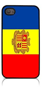 diy phone caseHeartCase Hard Case for Iphone 4 4G 4S (Flag of Andorra )diy phone case