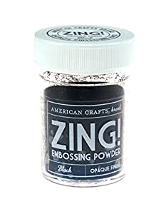 Zing! Opaque Embossing Powder 1-Ounce, Black