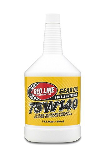 Red Line 57914 75W140 Synthetic Gear Oil - 1 Quart, (Pack of 12) by Red Line Oil