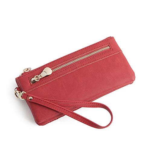 (Women's Wristlet Wallet Organizer Large Phone Checkbook)