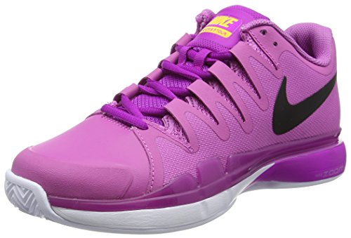 9 Tennis Shoe Tour Vapor white Viola hyper Women's Zoom 5 Violet black Nike q1HTW