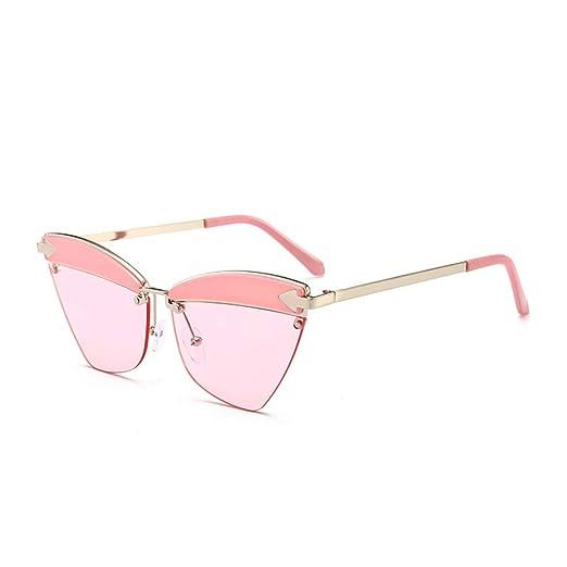 Yangjing-hl Gafas de Sol Personalidad Ojos de Gato Gafas de ...