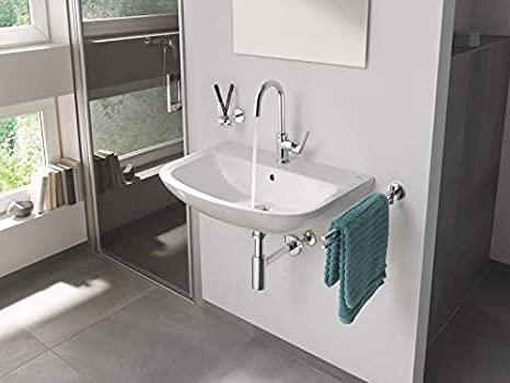 20575000 Grifo de lavabo monomando de cuerpo liso Grohe Flow Stand Tama/ño XS,/ Ref
