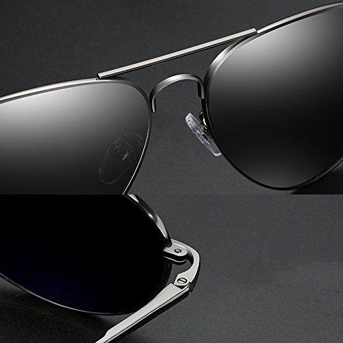 UV Protection Soleil PolariséS 100 Verres Gray TESITE Miroir D'ExtéRieur Hommes Lunettes De ZgFOxBwq