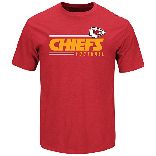 Scrimmage T-shirt - Kansas City Chiefs Line of Scrimmage Red T-shirt XX-Large