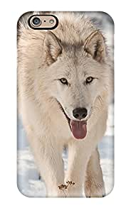 8312868K68595788 Tpu Phone Case With Fashionable Look For Iphone 6 - Arctic Wolf
