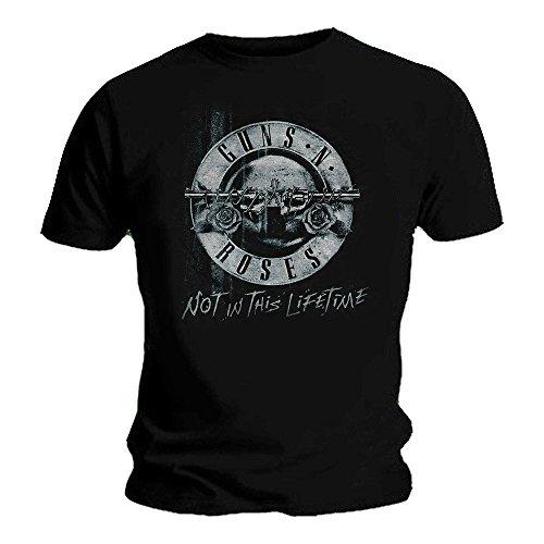 Guns N Roses Official T Shirt Not in This Lifetime Tour XEROX Bullet