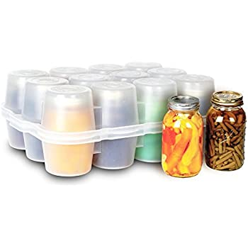 Amazon.com: Cajas de almacenamiento para tarros de conserva ...