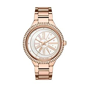 Michael Kors Women's Quartz Watch analog Display and Stainless Steel Strap, MK6551