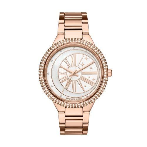 Michael Kors Women's 'Taryn' Quartz Stainless Steel Casual Watch, Color:Rose Gold-Toned (Model: MK6551)
