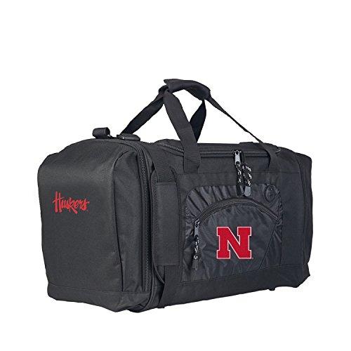 Nebraska Cornhuskers Sport Duffle Bag (Officially Licensed NCAA Nebraska Cornhuskers Roadblock Duffel)