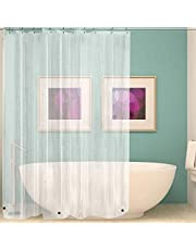 Wimaha Waterproof Plastic Shower Curtain Liners-CA