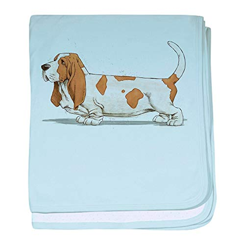 CafePress Basset Hound Baby Blanket, Super Soft Newborn Swaddle