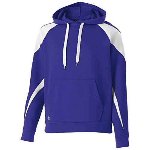 - Men's Prospect Hoodie Holloway Sportswear 2XL Purple/White