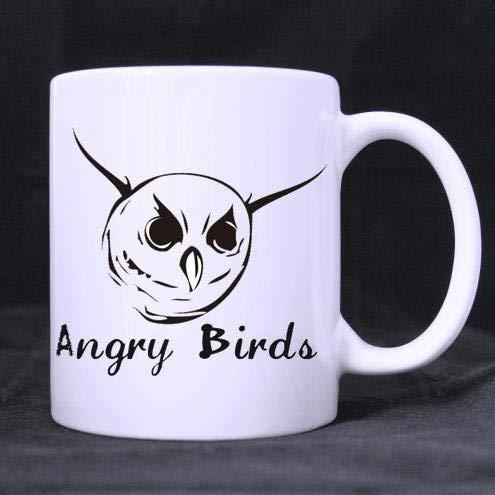 custom mugs white ceramic oz special angry birds funny quotes