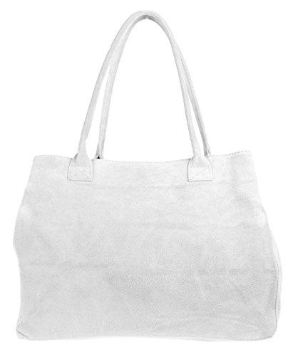 Girly Handbags - Bolso de hombro Mujer blanco