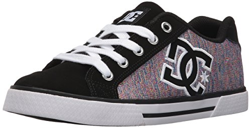 DC Women's Chelsea SE Skate Shoe Skateboarding, Black/Multi, 5 M US