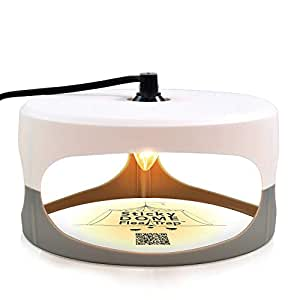 Aspectek - Most Favored - Trapest Sticky Dome Flea Bed Bug Trap with 2 Glue Discs. Odorless Non-poisonous and Natural Flea Killer Trap Pad, Family, Children and Pets Friendly, Best Pest Control