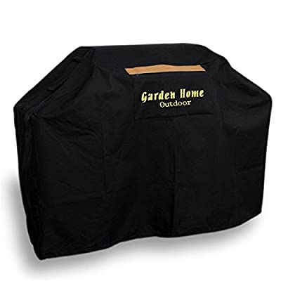"Garden Home Heavy Duty 72"" XXL Grill Cover Weber (Genesis), Holland, Jenn Air, Brinkmann, Char Broil, & More. 3 Year Warranty + 12.99 Best Quality Grill Brush Free"