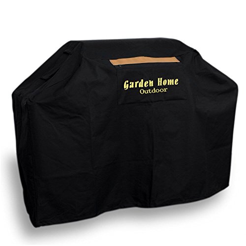 Garden Grill (Garden Home Outdoor Grill Cover 72-Inch for Weber, Holland, Jenn Air, Brinkmann and Char Broil, Black)