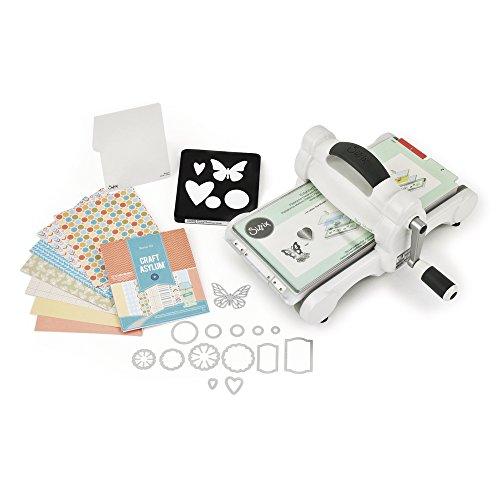 Sizzix 659765 Kit de démarrage machine Big Shot à découper et accessoires