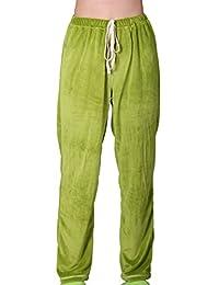 Godsen Women's Soft Plush Pajama Pants Lounge Bottoms