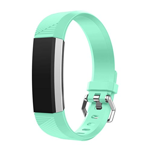 For Fitbit Alta HR Bands,HP95(TM) Small Size Sport Replacement Wrist Band Silicon Strap Clasp For Fitbit Alta HR Smart Watch (Mint Green)