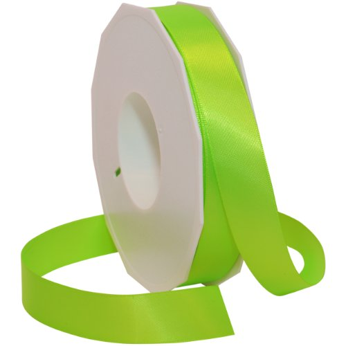 Morex Ribbon Neon Brights Satin, 7/8-inch by 50-yard, Key ()