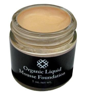 Organic Moisturizing Liquid Foundation (Organic Liquid Mineral Foundation - Paraben Free, Non-Toxic (Light-Medium Warm))