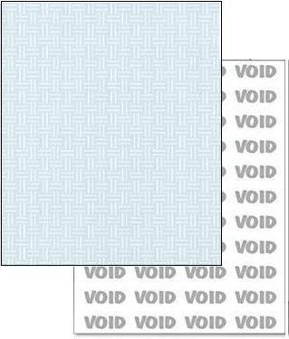 Green Basketweave (Green 8-1/2x11-24lb Basketweave Security Paper 500/pkg)