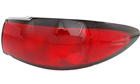 Evan-Fischer EVA15672024076 Tail Light for Ford Escort 98-03 RH Lens and Housing Zx2 Model Coupe Right Side Replaces Partslink# FO2801161