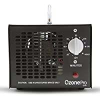 Ozone Pro Commercial Ozone Generator 5000mg Industrial O3 Air Purifier Deodorizer Sterilizer (Black)