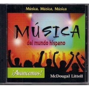 Price comparison product image Avancemos! Musica del mundo hispano