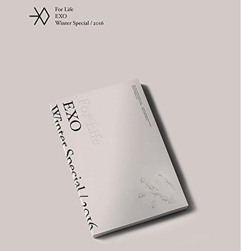 EXO-[2016 Winter Special Album] 2CD+PhotoBook+PhotoCard+PostCard+Sticker K-POP Sealed