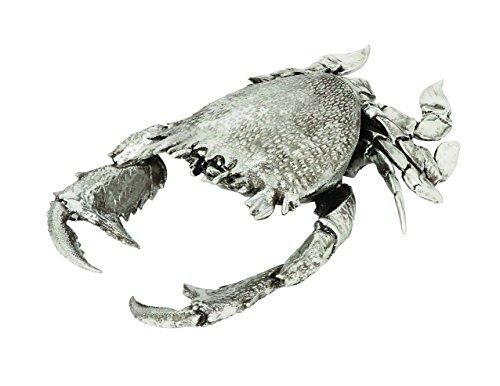 Benzara 76208 Crab Classy Home Decor, Silver