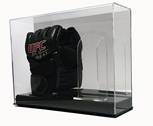 Max Pro Double UFC / MMA Glove Display Case with Mirror Back
