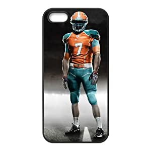 Miami Dolphins iPhone 5 5s Cell Phone Case Black persent zhm004_8500809