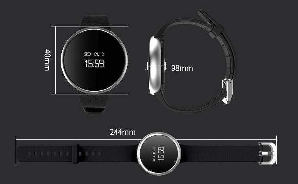 ... Podómetro Deportivo para La Salud Funcionamiento A Prueba De Agua Bluetooth para Hombres Y Mujeres Parejas Multifunción Reloj Blanco: Amazon.es: Relojes
