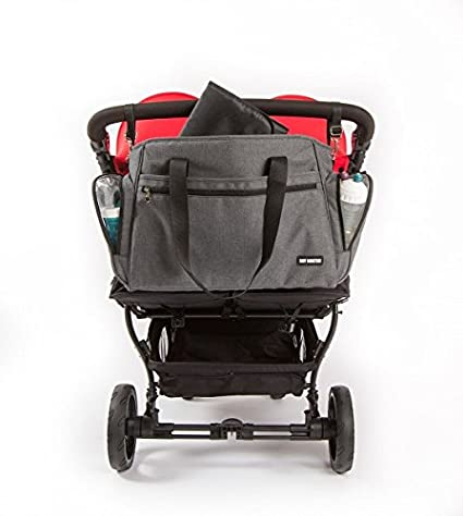 Baby Monsters Easy Twin - Bolso para silla de paseo, color gris ...