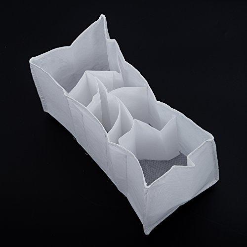 Bolsa de almacenamiento - SODIAL(R) Biberon de capa interior Bolso de mamas de panales para bebes Seguridad Viajes L Blanco