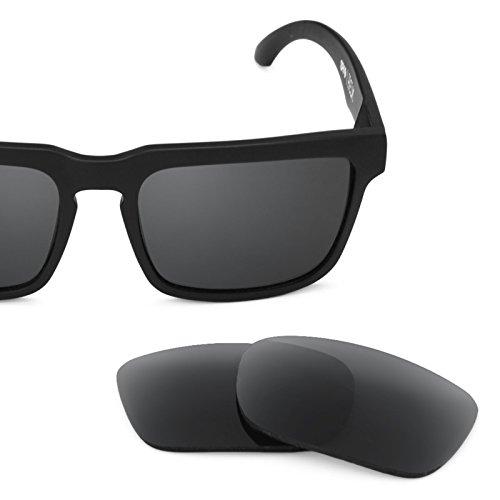 Verres de rechange pour Spy Optic Helm — Plusieurs options Polarisés Elite Noir