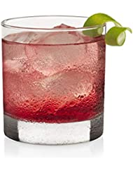 Libbey Heavy Base Rocks Cocktail Glasses, Set of 12