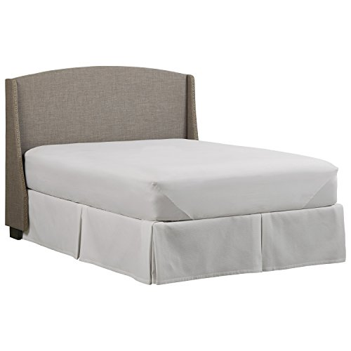 Stone & Beam Darby Wingback King Upholstered Headboard, 80