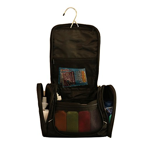 Toiletry bag with ikea travel size bottles hanging for Ikea luggage cart