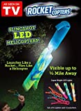 New! Rocket Copters - The Amazing Slingshot LED Helicopters As Seen On TV!!