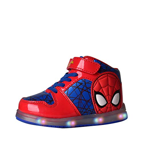 (Favorite Characters Baby Boy's Spider-Man¿ Motion Lighted SPS382 (Toddler/Little Kid (11 M US Little Kid, Red/Blue Hi-to )