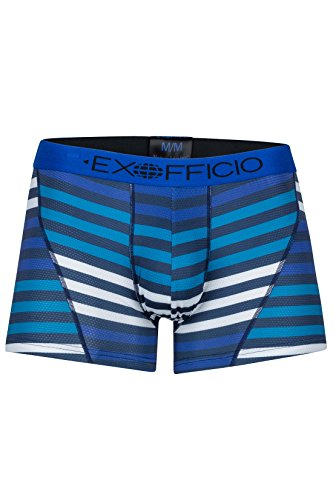 ExOfficio Men's Give-N-Go Sport Mesh Print Boxer Briefs, 3
