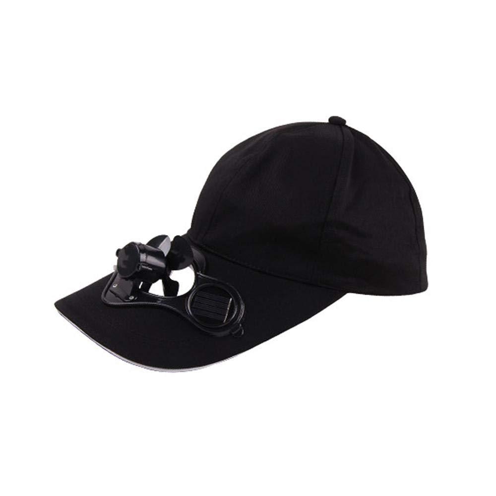 Sombrero Solar de Verano para Actividades al Aire Libre FOONEE con Ventilador de refrigeraci/ón para Ciclismo para Pesca b/éisbol Ciclismo Unisex Escalada Ahorro de energ/ía sin Pilas